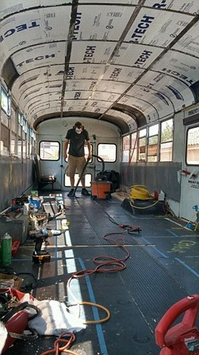 Its Motorhome|From School Bus to Motorhome